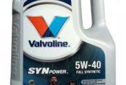 Масло моторное VALVOLINE SYNPOWER 5W-40 5л - 1