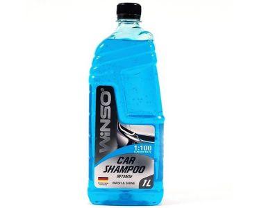 Автокосметика для кузова - Автошампунь концентрат WINSO INTENSE Car Shampoo Wash & Shine 1л (810920) -