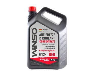 - Антифриз-концентрат Winso G 12+ 5 кг Red -