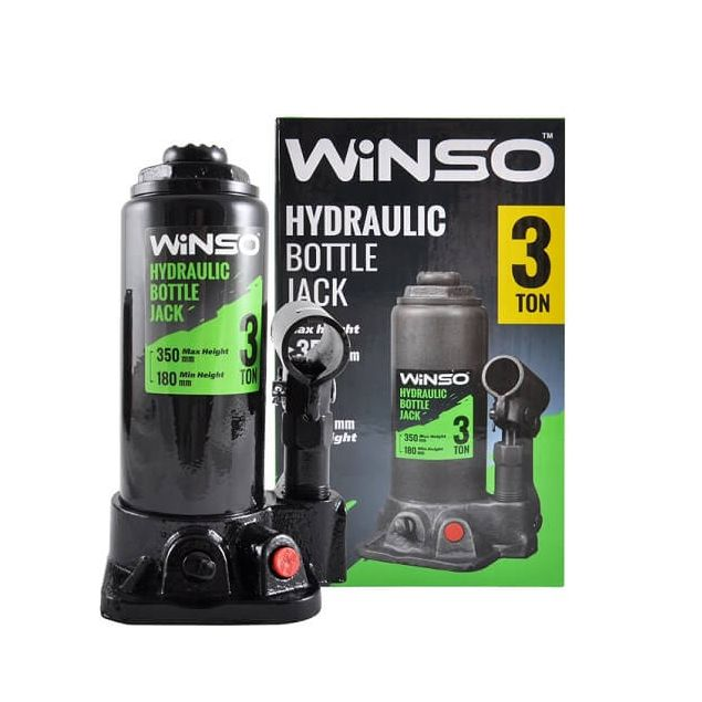 Домкрат бутылочный WINSO 173000 3т 180-350мм - 1
