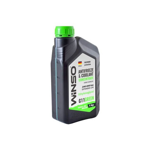 Антифриз-концентрат Winso G11 1 кг Green - 2