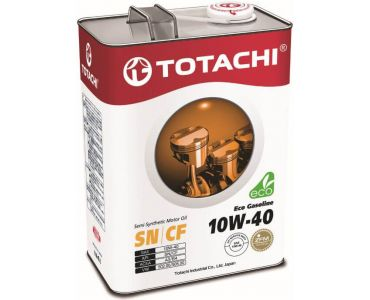 Автомасла - Масло моторное TOTACHI Eco Gasoline 10W-40 4л - Автомасла