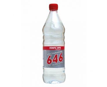 Растворитель для краски - Растворитель 646 без прекурсоров ХИМРЕЗЕРВ 1л