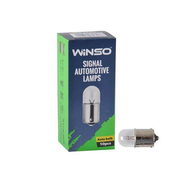 Лампа накаливания Winso R10W 10W 12V BA15s 713160 - 1