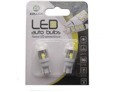 - Zollex LED T10 SMD5730x6 12V White (2шт) T1177 -