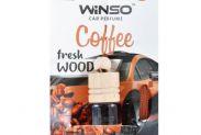 Вінсо Ароматизатор Winso Fresh WOOD Cofee 530360 - 1