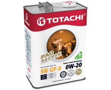 Автомасла - Моторное масло Totachi Extra Fuel Economy 0W-20 4л -