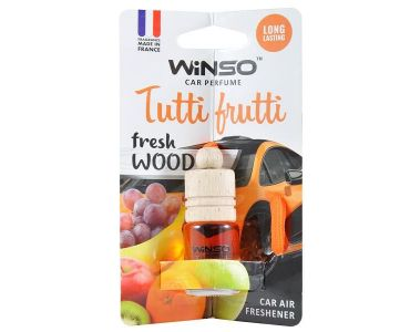 - Ароматизатор Winso Fresh WOOD Tutti Frutti 530680 -