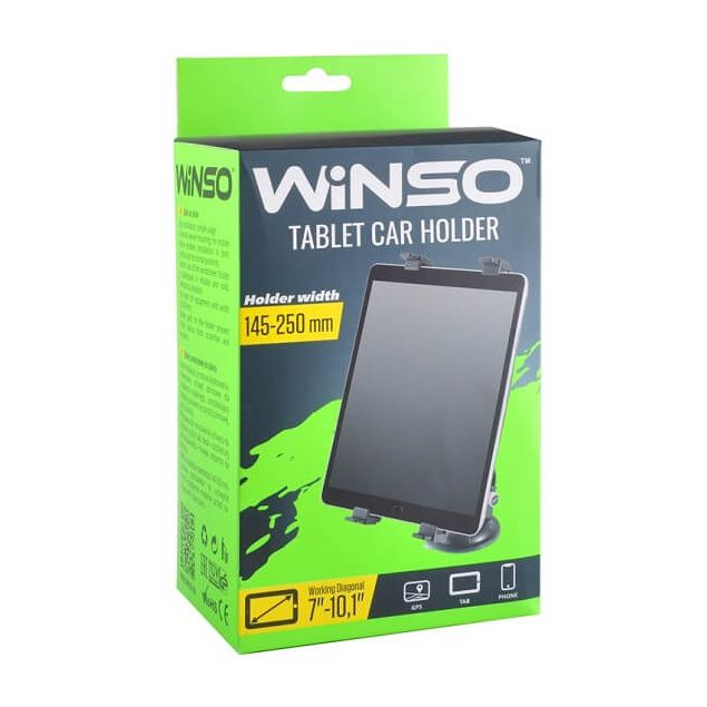 Держатель планшета Winso с рабочей диагональю 7-10.1 дюймов 145-250 мм (201150) - 1