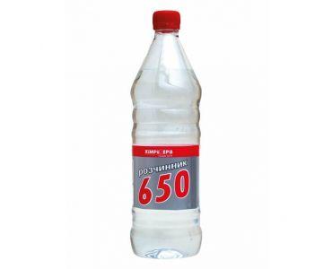 Растворитель для краски - Растворитель P-650 ХИМРЕЗЕРВ 1л