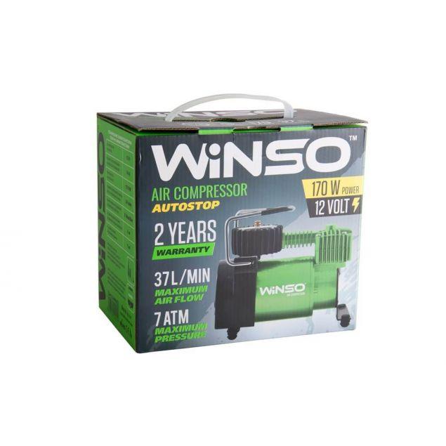Автокомпрессор Winso с автостопом 124000 170Вт - 3