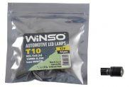 LED лампа Winso T10 12V SMD W2.1x9.5d Lens 127340 - 1