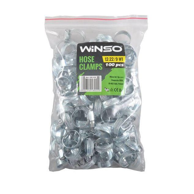 Хомут оцинкованный WINSO 12-22 мм (160220) - 2