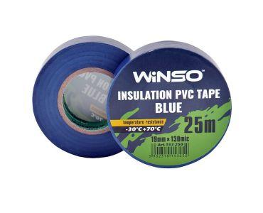 - Ізолента Winso ПВХ синя 25 м, 19 мм -