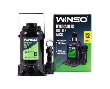 Домкраты автомобильные - Домкрат гидравлический бутылочный Winso 170130 12т 190-365мм