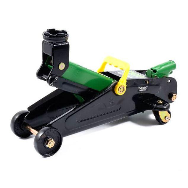 Домкрат гидравлический подкатной Winso 171860 2т 135-335мм в пластиковом кейсе - 2