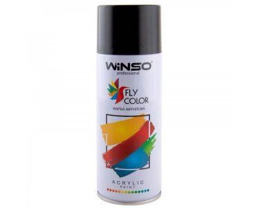 Краска для авто - Краска Winso Spray черная глянцевая BLACK RAL9005 880400 450мл - КРАСКА ДЛЯ АВТО