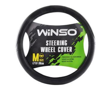 - Чехол на руль Winso M черный 140420 -