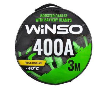 Прикуриватель, провода прикуриватели в Днепре - Провода прикуривания WINSO 400А 3м сумка 138430