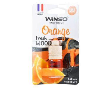 - Ароматизатор WINSO WOOD 4 Orange 530390 -