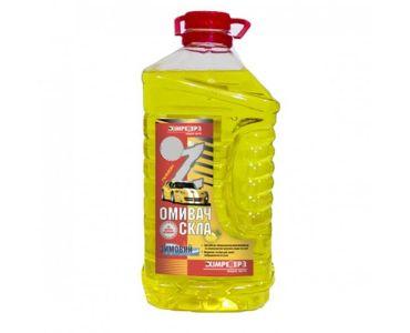 - Омивач скла зимовий -35 ХІМРЕЗЕРВ Лимон 4л -