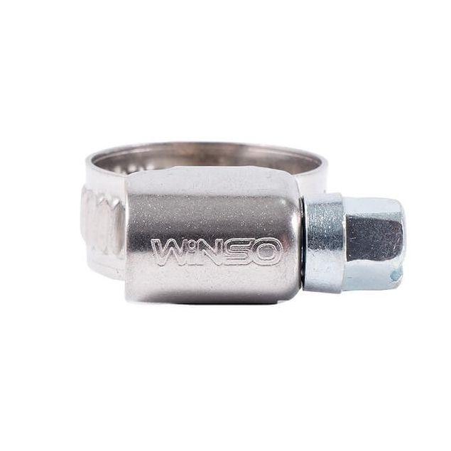 Вінсо хомуті металеві нерж. сталь 50 - 70, 9mm W2 (50шт.) - 1