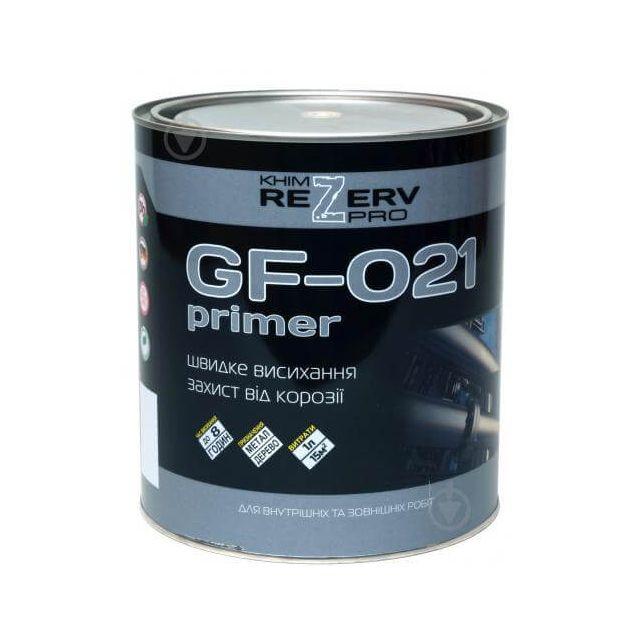 Грунт ГФ-021 красно-коричневый ТМ Khimrezerv PRO (2,8кг) - 1