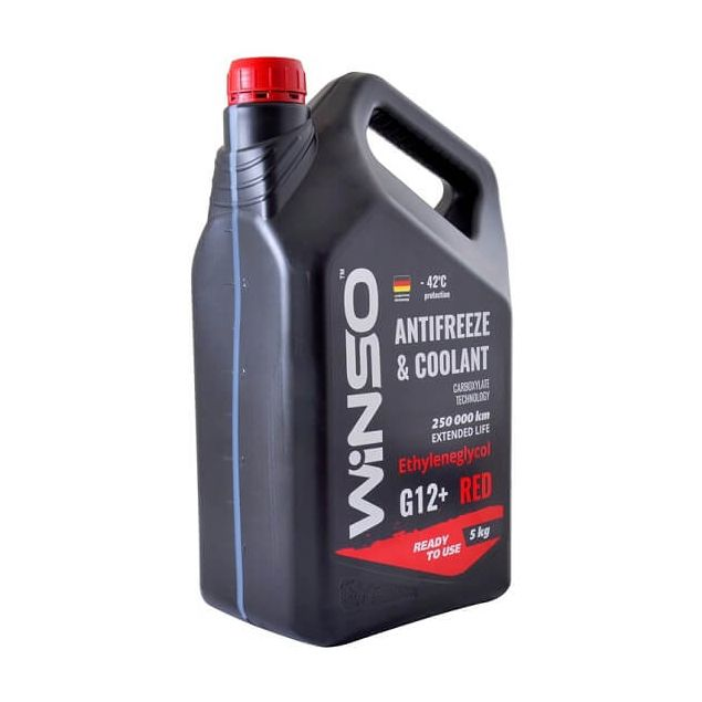 Антифриз Winso Red G12+ -42 5 кг Красный - 2