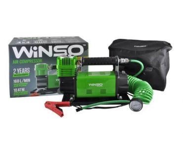 Автокомпрессоры - Автокомпрессор Winso 129000 600 Вт