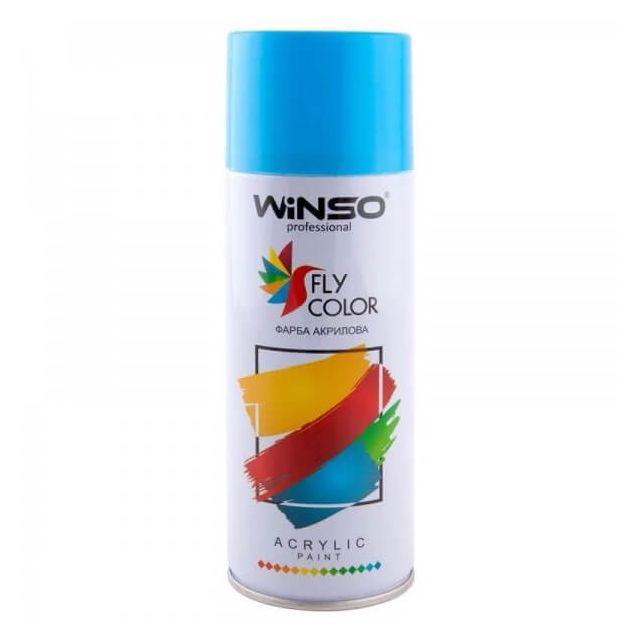 Фарба Winso Spray світло-блакитна LIGHT BLUE RAL5012 880270 450мл - 1