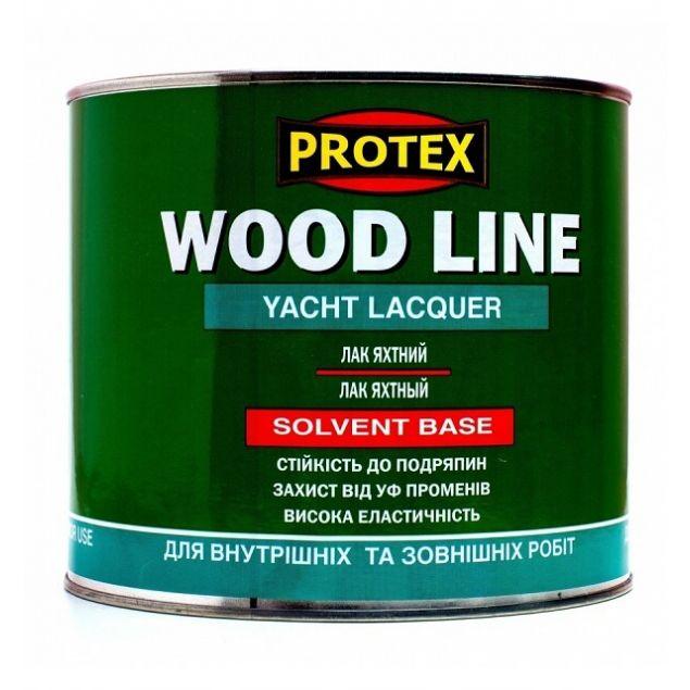 Лак полиуретановый паркетный PROTEX WOOD LINE полуматовый (2,1л) - 1