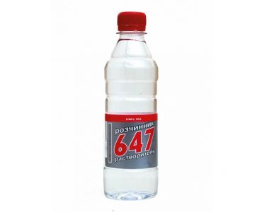 Растворитель для краски - Растворитель 647 без прекурсоров ХИМРЕЗЕРВ 0,5л