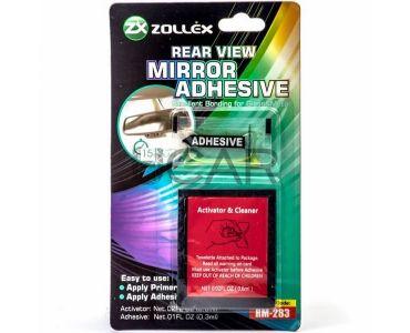 Герметики и клеи - Zollex Клей для зеркал заднього виду (0,6мл+0,3мл) RM-283