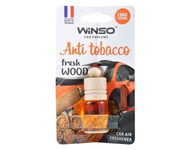 - Ароматизатор Winso Fresh WOOD Anti Tobacco 530290 -