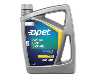 - Масло моторное Opet для двигателей на газу FULLMAX LPG 5W-40 4л -