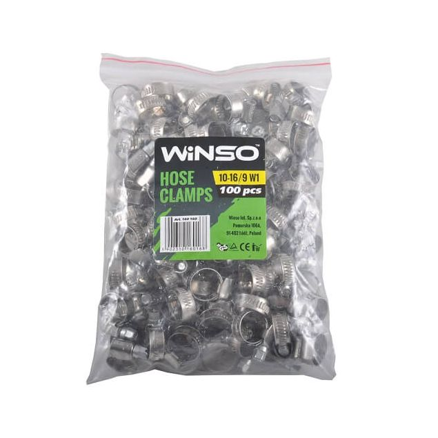 Хомут оцинкованный WINSO 160160 10-16 мм - 2