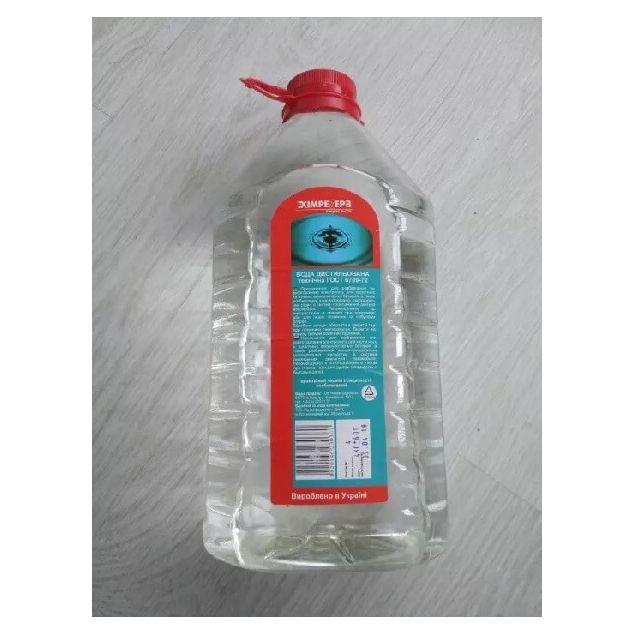 Вода дистиллированная ХИМРЕЗЕРВ 4л - 1