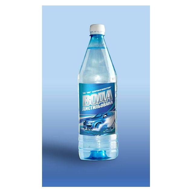 Вода дистильована 5 л.(Запоржавтопобутхим) - 1