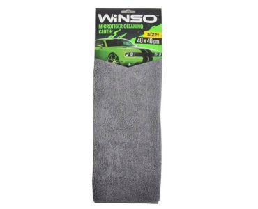 Автоаксессуары - Салфетка из микрофибры WINSO 40х40см, серая (150310)