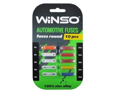 Инструменты в Днепре - Предохранители Winso цилиндрические 10 шт (155300)
