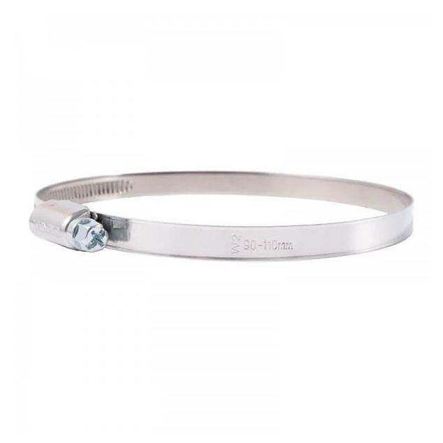 Вінсо Хомути металеві нерж. сталь 90-110,9 мм W2 (20шт.) - 1