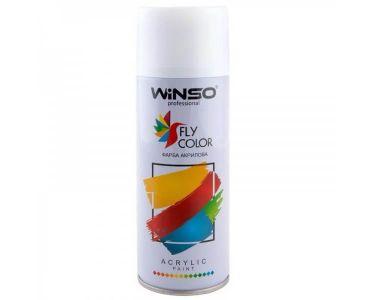 Краска для авто - Краска Winso Spray белая матовая MATT WHITE RAL9010 880140 450мл - КРАСКА ДЛЯ АВТО