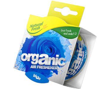 - Ароматизатор Elix Organic Can PURE with Lid Blue -