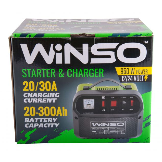 Описание Пуско-зарядное устройство для АКБ Winso 139600 - 4