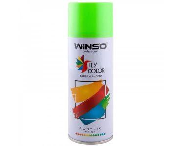 Краска для авто - Краска Winso Spray флуоресцентная ярко-зеленая 880470 450мл - КРАСКА ДЛЯ АВТО