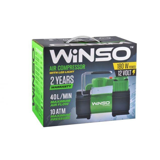 Автокомпрессор Winso 131000 180 Вт - 3
