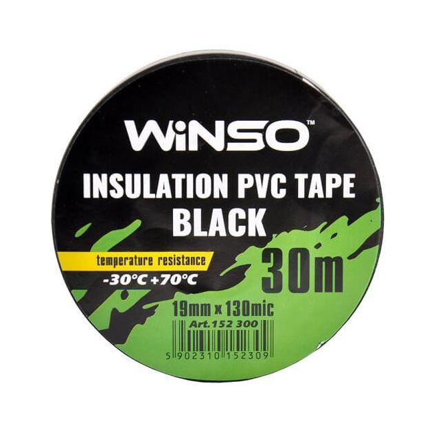 Изолента Winso ПВХ черная 30м /19 мм - 2
