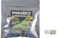 LED лампа Winso T10 12V SMD5050 W2.1x9.5d 127250 - 1