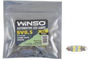 LED лампа Winso C5W 12V SMD5050 SV8.5 T11x36 127420 - 1