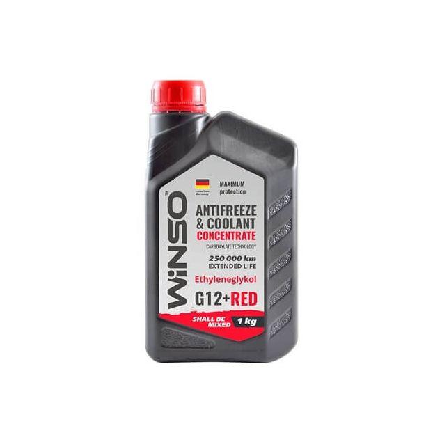 Антифриз-концентрат Winso G 12+ 1 кг Red - 1